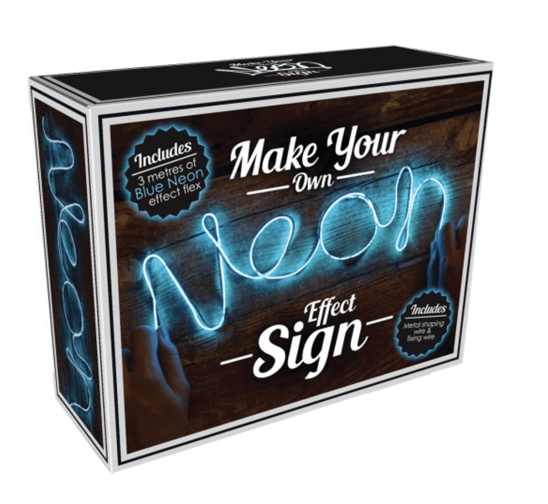 iScream Blue Neon Effect