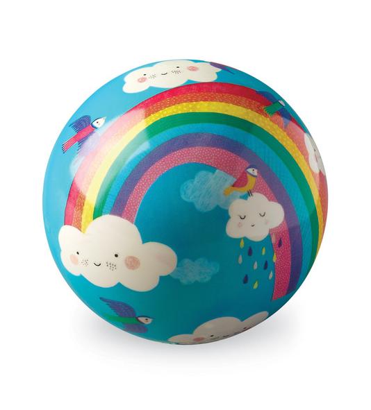 "Crocodile Creek 4"" Ball - Rainbow Dreams"