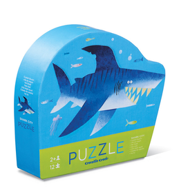 Crocodile Creek Mini Puzzle - Shark City