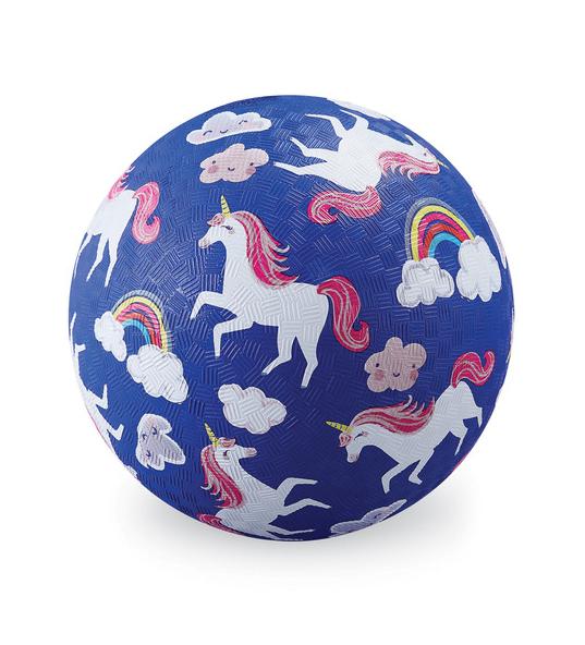 "Crocodile Creek 5"" Playground Ball - Unicorns"