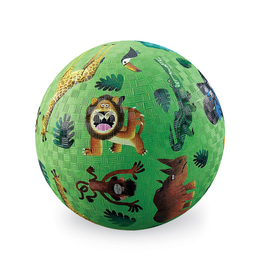 "Crocodile Creek 7"" Playground Ball - Very Wild Animals"