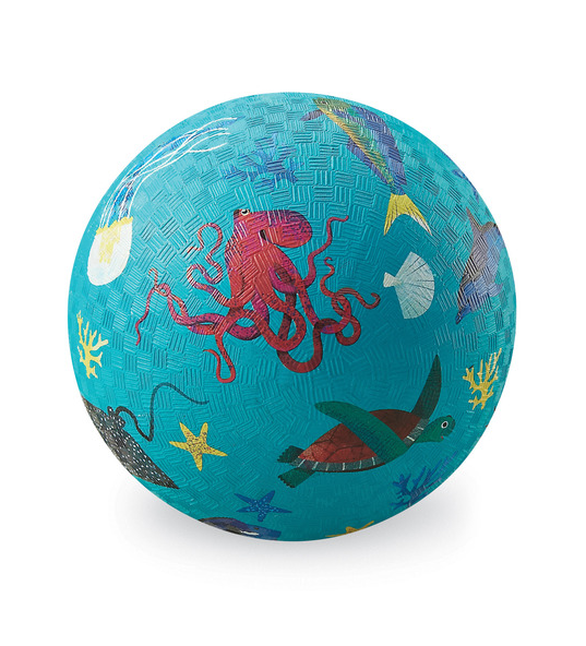 "Crocodile Creek 5"" Playground Ball - Sea Animals"