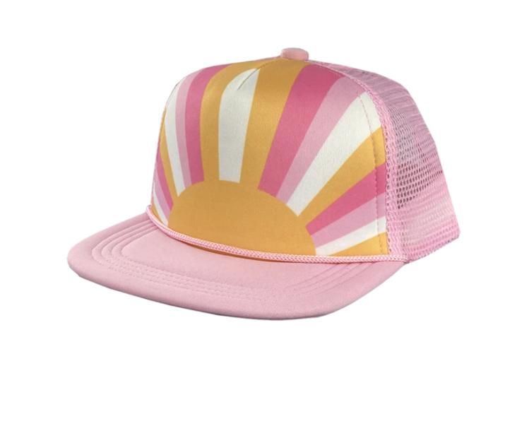 Tiny Whales Sun Child Hat