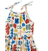 Tea Collection Coral Reef Tie Shoulder Dress