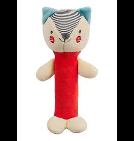 Wild & Wolf Fox Organic Squeaker Rattle