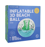 Sunnylife 3D Inflatable Beach Ball | Croc