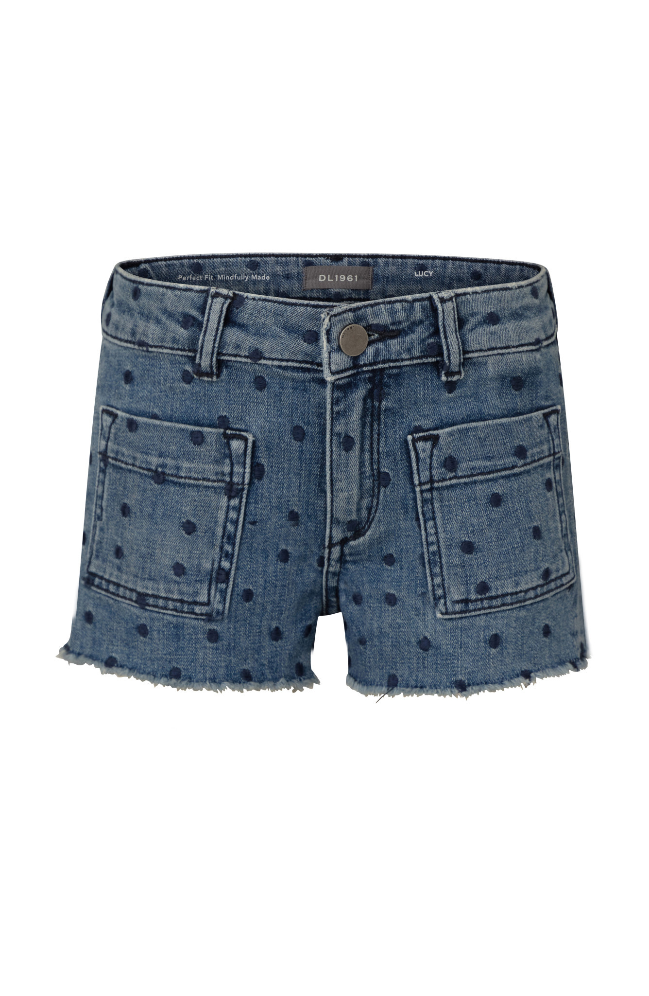 DL1961 Denim Lucy Spotted Short