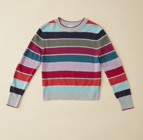 Ella Moss Multi Stripe Sweater