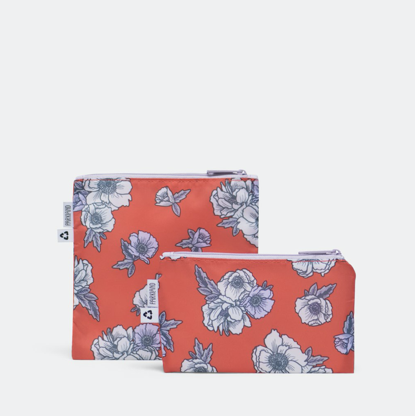 Parkland Snack Bag Duo - Poppy