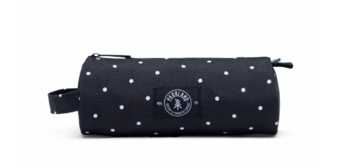 Parkland Pencil Case - Polka Dots