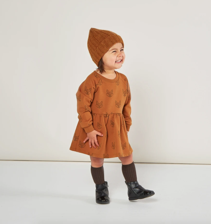 Rylee & Cru Fox Baby Dress