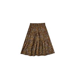 Rylee & Cru Dark Floral Midi Skirt