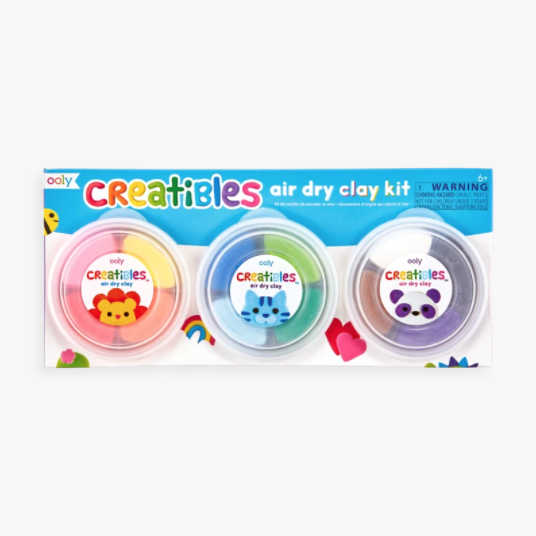 Ooly Creatibles Air Dry Clay Kit