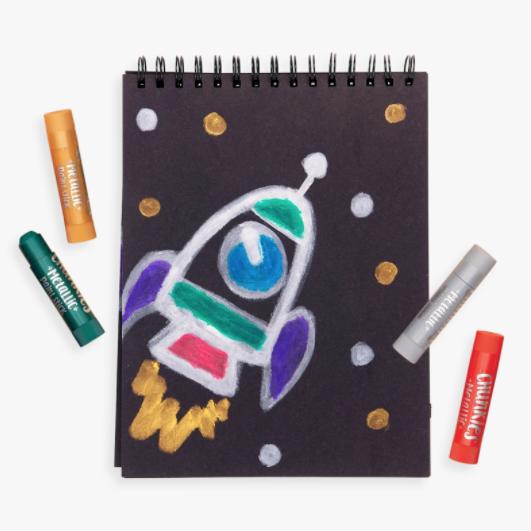 Ooly Chunkies Paint Sticks - Metallic (Set of 6)