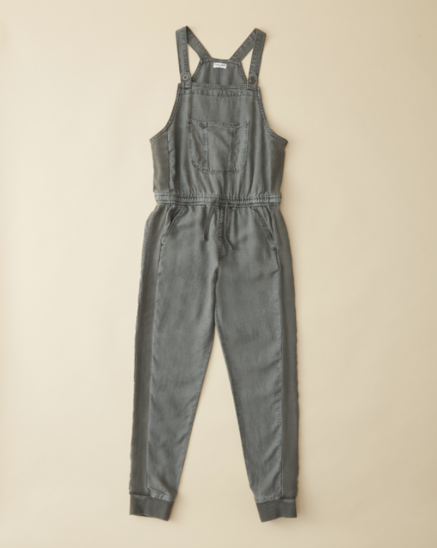 Splendid Linen Overall - Army Green