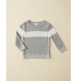 Splendid Stripe Sweater - Grey