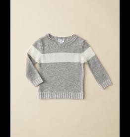 Splendid Stripe Sweater - Grey