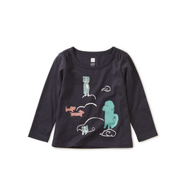 Tea Collection Animal Clouds Baby Tee