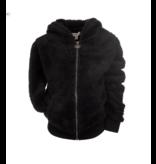 Appaman Fuzzy Baby Hoodie - Black