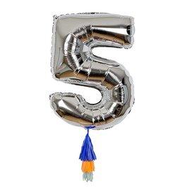Meri Meri Number Balloon: 5