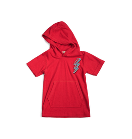 Appaman Hooded Tee - Mars Red