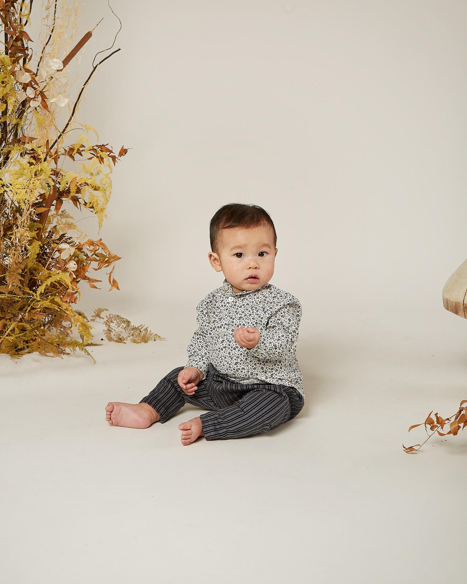 Rylee & Cru Flower Field Baby Mason Shirt