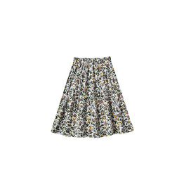 Rylee & Cru Enchanted Garden Tiered Maxi Skirt