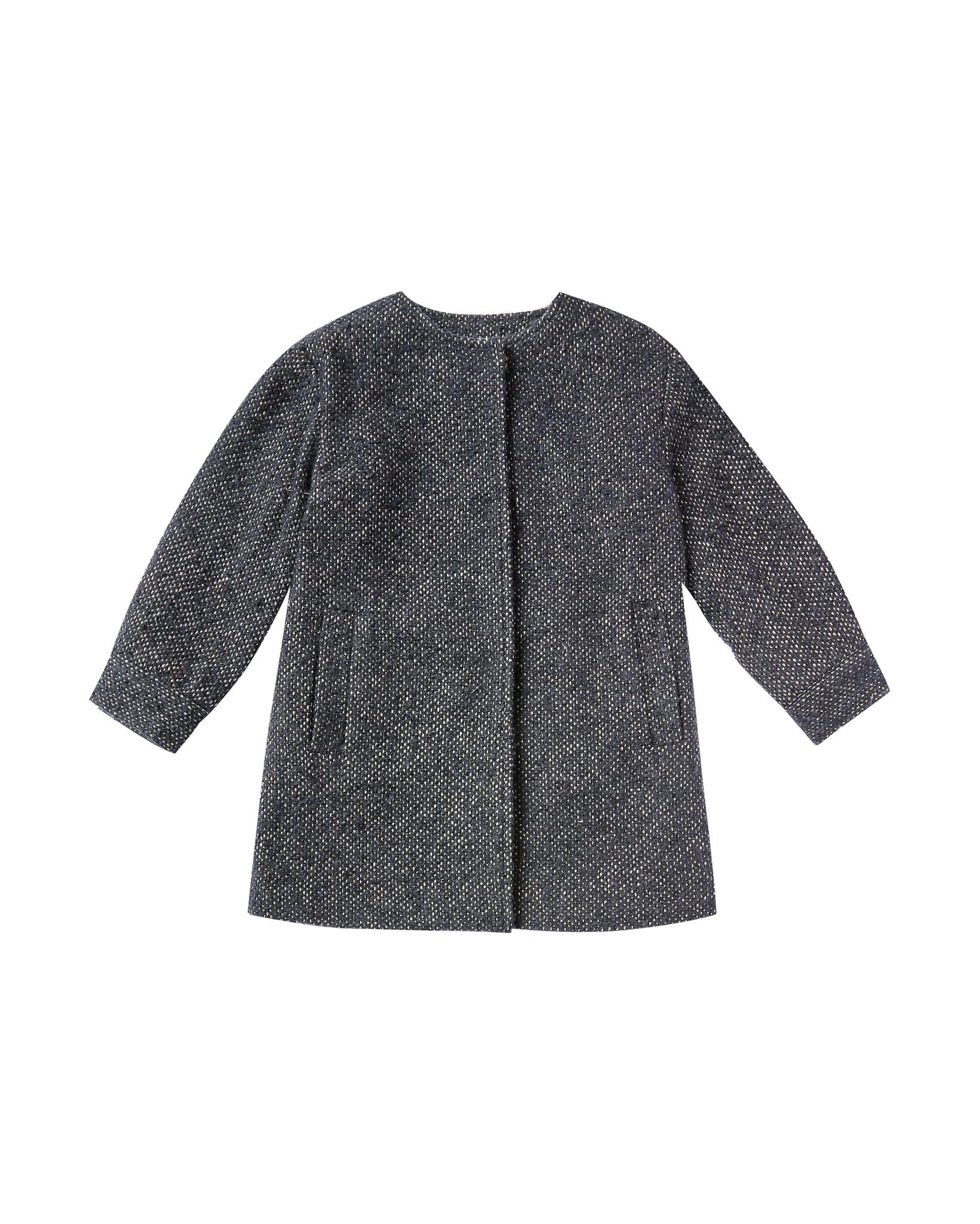 Rylee & Cru No-Collar Coat