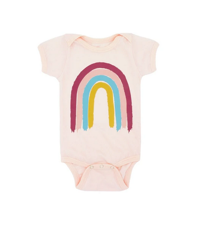 Feather 4 Arrow Painters Rainbow Onesie