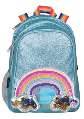 iScream Rainbow, Stars and Glitter Backpack