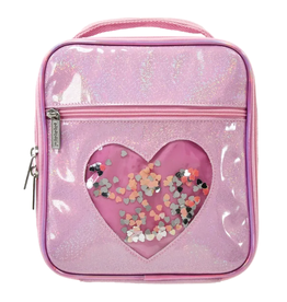 iScream Heart Confetti Lunch Tote