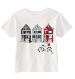 Claudia Pearson Victorian Houses Tee