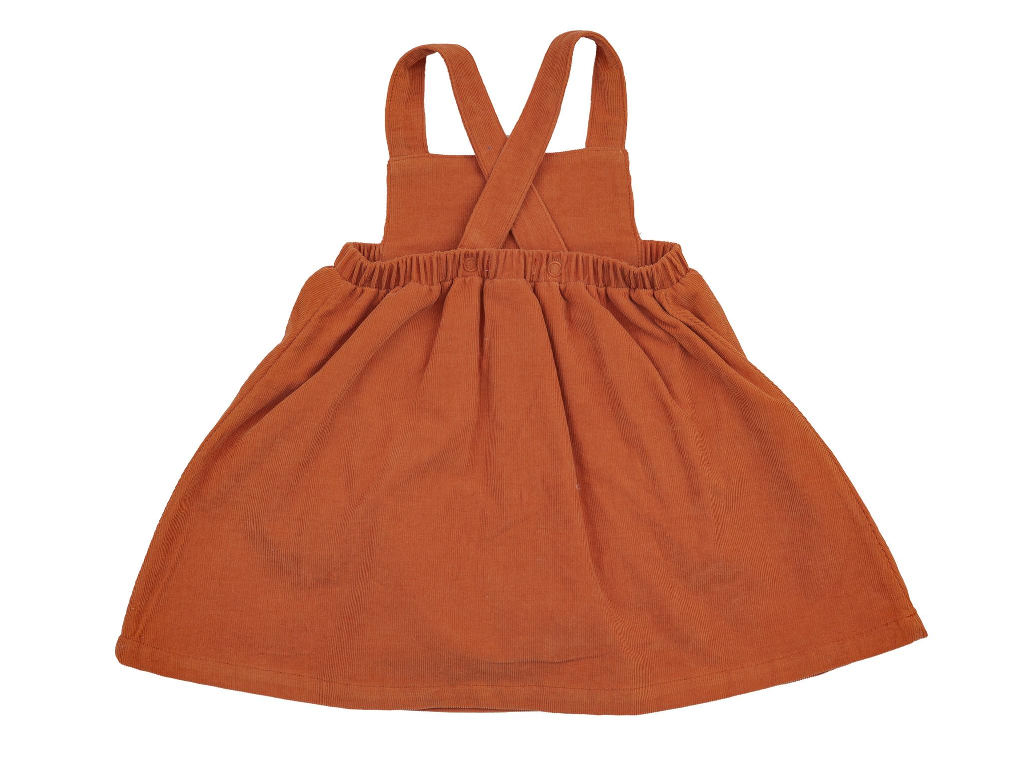 Angel Dear Corduroy Overall Dress