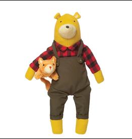 Manhattan Toy Company Lemon The Bear + Kitty