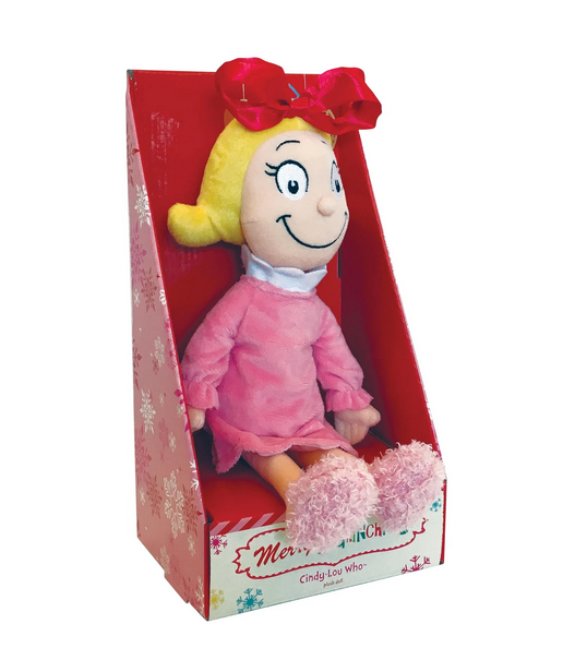 Manhattan Toys Cindy-Lou Who Soft Toy