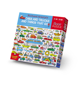 Crocodile Creek Richard Scarry's Cars and Trucks and Things That Go Puzzle