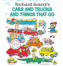Crocodile Creek Richard Scarry's Cars and Trucks and Things That Go