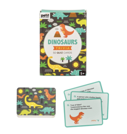Wild & Wolf Trivia Cards - Dinosaurs