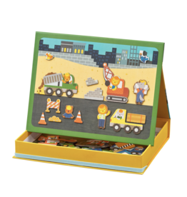 Wild & Wolf Magnetic Play Scene - Construction