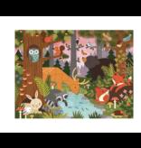 Wild & Wolf Floor Puzzle - Enchanted Woodland