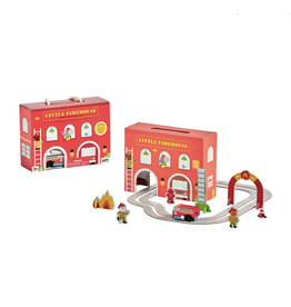 Wild & Wolf Wind Up and Go Playset - Firehouse