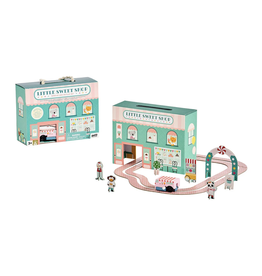 Wild & Wolf Wind Up and Go Playset - Little Sweet Shop