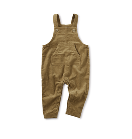 Tea Collection Corduroy Baby Overalls - Umber