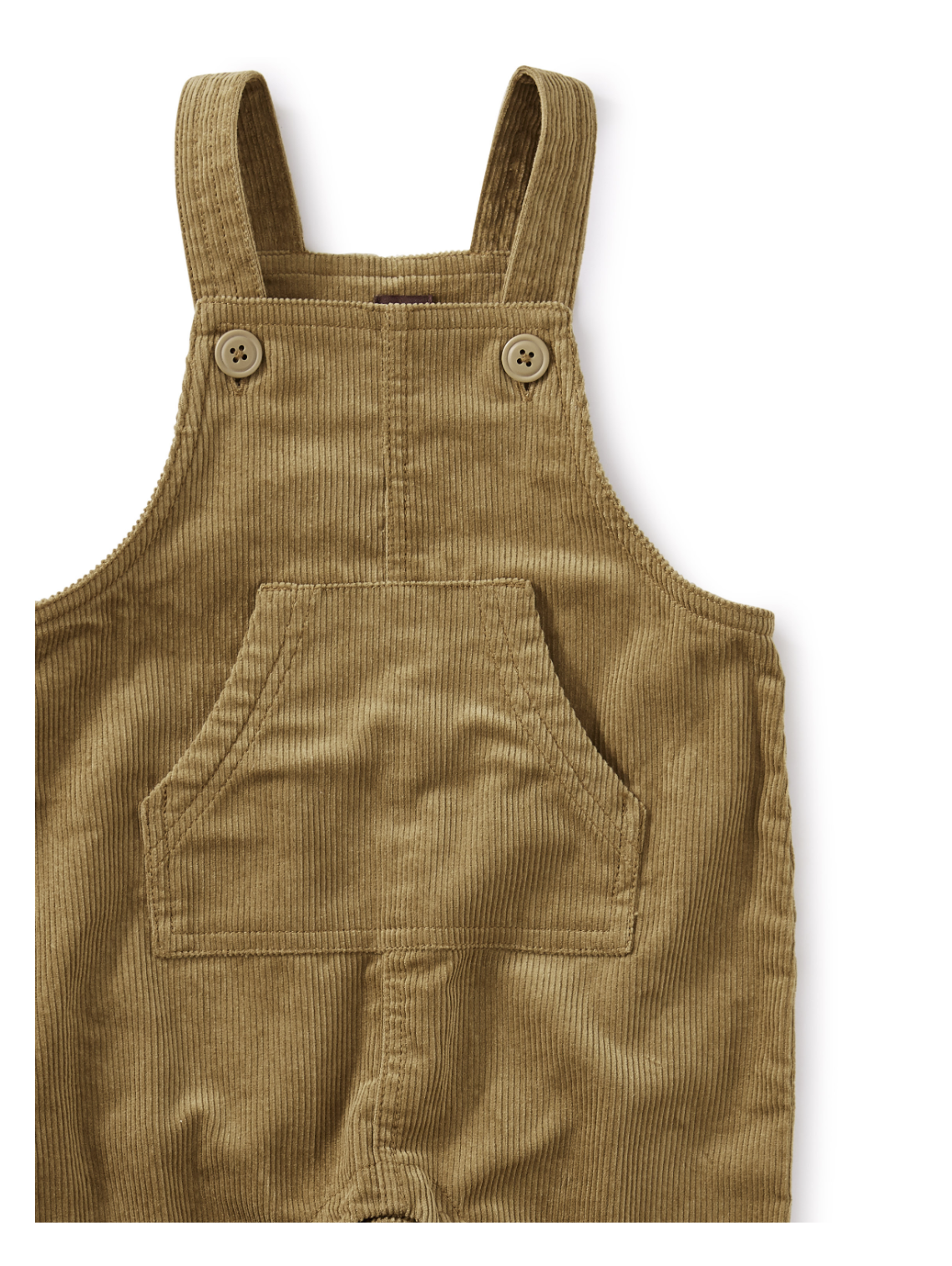 Tea Collection Corduroy Baby Overalls - Umber
