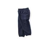 Tea Collection Ready to Roll Baby Cargo Pants - Navy