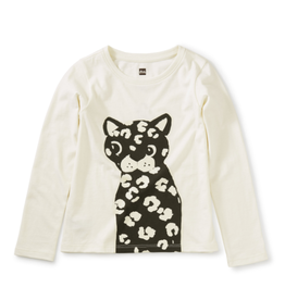 Tea Collection Wild Cat Glow Graphic Tee