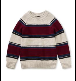 Tea Collection Striped Crewneck Sweater