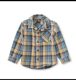 Tea Collection Plaid Baby Shirt - Huascarn Plaid