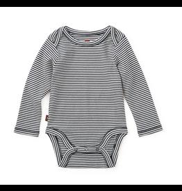 Tea Collection Striped Bodysuit- Heritage Blue