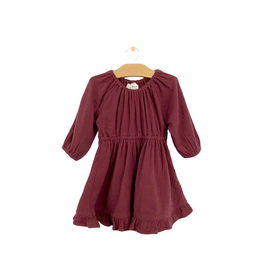 City Mouse Muslin Dress - Raisin